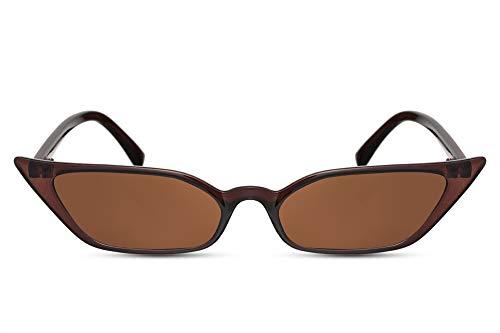 Translucides Marron Soleil De Lunettes Ca Chat Larges Cheapass Couleurs Femmes 005 Style Yeux 68Aq77