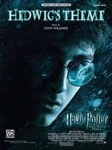 hedwig's theme harry potter and the half-blood prince - p/v/g sheet music