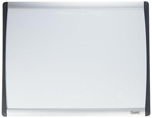 Quartet Cubicle Arc Frame Magnetic Dry-Erase Board, 14 x 11 Inches, Aluminum Frame (ARC1411) (11x14 Dry Erase)