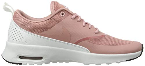 Summit Basso NIKE Pink Collo Pink 614 Black Rust Donna a Wmns Max Sneaker Thea Multicolore Rust White Air x4pA6