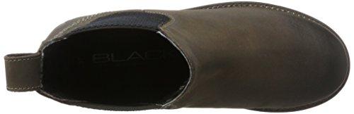 BLACK Damen 264 484 Chelsea Boots Grau (Dk. Grey Lea)