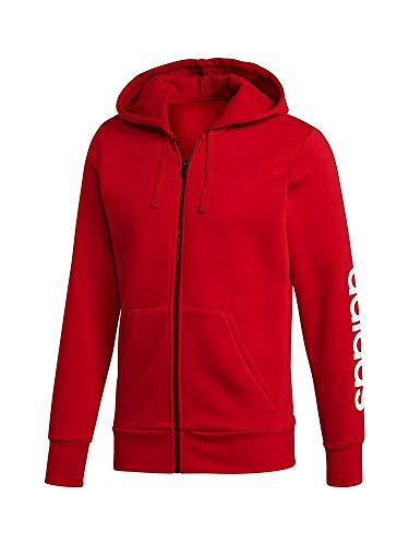 shirt Scarlet Sweat Rouge Homme À De Capuche Fzhoodb scarlet Lin Adidas Sport Ess xHqZUTwI