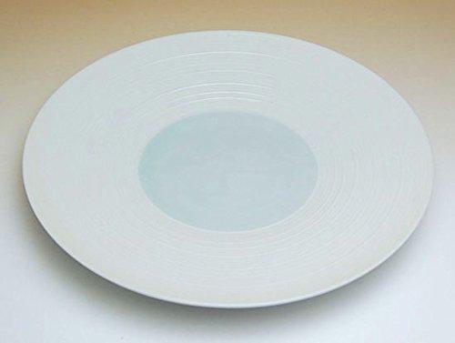 【5枚セット販売】【有田焼】涼青磁 7寸皿 325008 【サイズ】径22.5cm×高さ3.2cm B00VYM10YS