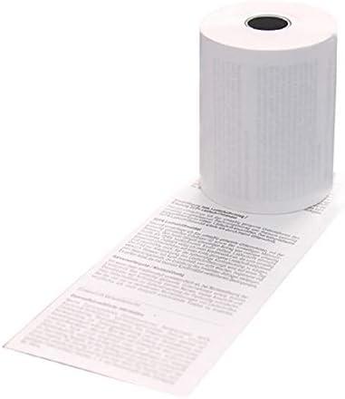 EC-Cash Rollen für Ingenico IWL220 WireLess GPRS mit Lastschrifttext - 50 Thermorollen 57/15/12 Ø 37mm
