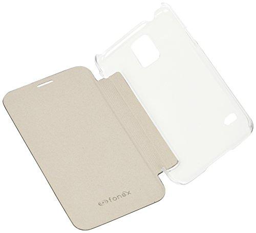 Fonex BOOKCY971B 5.1 Folio Negro funda para teléfono móvil - Fundas para teléfonos móviles (Folio, Samsung, Galaxy S5/S5 Neo, 12,9 cm (5.1), Negro)