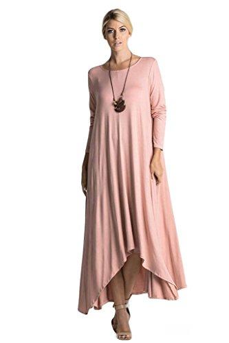 Buy pink handkerchief dress