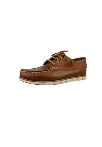 Timberland Men's Tidelands Ranger A1BHB Leather Lace Up Shoe Redwood Brown h5XKjN