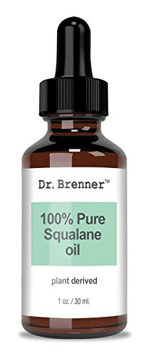 100% Pure Squalane Face Oil Anti Aging Moisturizer Derived From Fresh Olives For Skin And Hair 1oz. (1 oz) ()