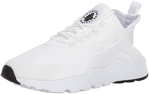 NIKE Air Huarache Run Ultra Women's Running Shoes White/White-White-Black 819151-102 (9.5 B(M) US) by NIKE