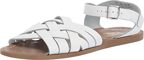 (Salt Water Sandals by Hoy Shoes Girl's Retro (Big Kid/Adult) White 7 M US Big)