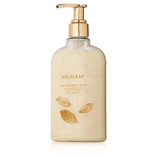 Thymes - Goldleaf Perfumed Body Wash with Pump - Luxury Floral Shower Gel for Women - 9.25 oz