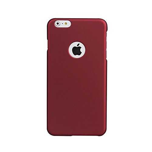 iPhone 6 Plus / 6s Plus Case, Acewin [Exact-Fit] iPhone 6 Plus 6s Plus (5.5) Slim Case Soft Finish Coated Surface with Premium Matte Hard Case Cover for iPhone 6 Plus 6S Plus (5.5) (Wine Red)