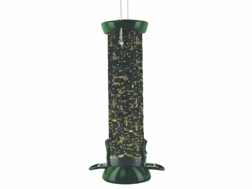 Birds Choice Clever Clean 2-Port Tube Feeder, 12-Inch