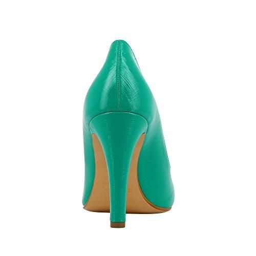 Evita Shoes - Zapatos de vestir de Piel para mujer Verde - verde