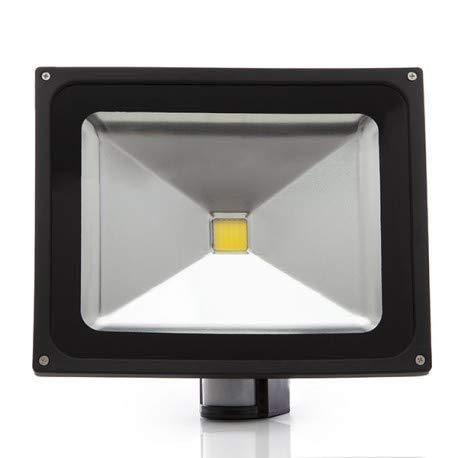 Foco Proyector LED 50 Vatios Con Detector De Movimiento ...