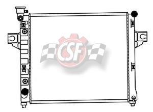 jeep cherokee csf radiator - 6