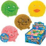 Critter Puffs (Toysmith Wee Critter Puff Toy by Toysmith)