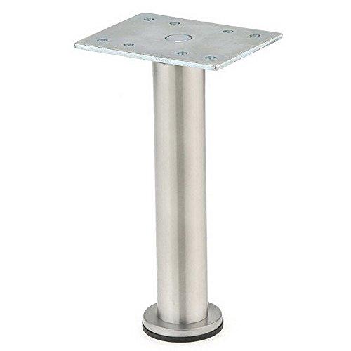 Richelieu Hardware - 64217150170 - BORSA - Adjustable Furniture Leg - 642-150 mm - Stainless Steel Finish -