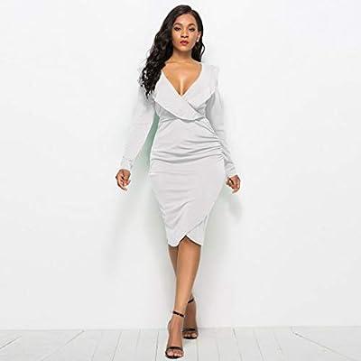 ZODOF vestidos de fiesta largos Mujer Sexy vestido de coctel ...