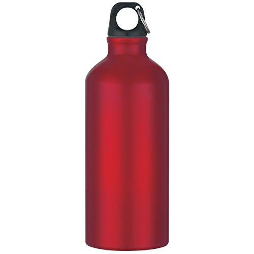 "Logotastic 5701-RD6 Tundra Aluminum Bike Bottle(36 Pack), 19""/16.5 oz/20 oz, Red from Logotastic"