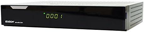 Edison Piccollo 3in1 - Receptor de TV (Full HD, USB) DVB, color negro (importado)