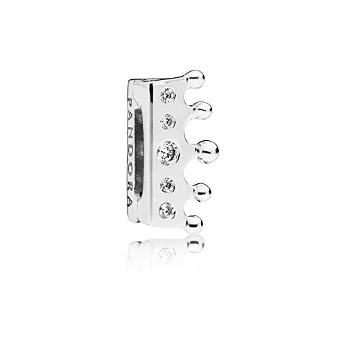 PANDORA Reflexions Crown 925 Sterling Silver Clip Charm - 797599CZ ()
