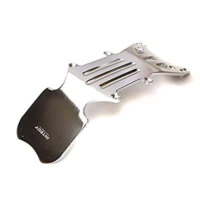 Integy RC Model Hop-ups T3857NS Front Type II Skid Plate for E/T-Maxx (3903,3905,3906,3908,4907,4908,4909,4910): Toys & Games