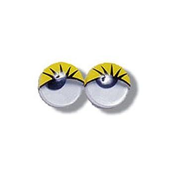 Impex Bastel Augen Zum Aufkleben 10 Mm Gelb 200pk