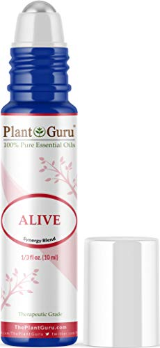 Alive Essential Oil Blend Roll On 10 ml 100% Pure Pre-Diluted Therapeutic Grade. Anxiety, Depression, Energizing, Boost Mood, Uplifting, Empowering.