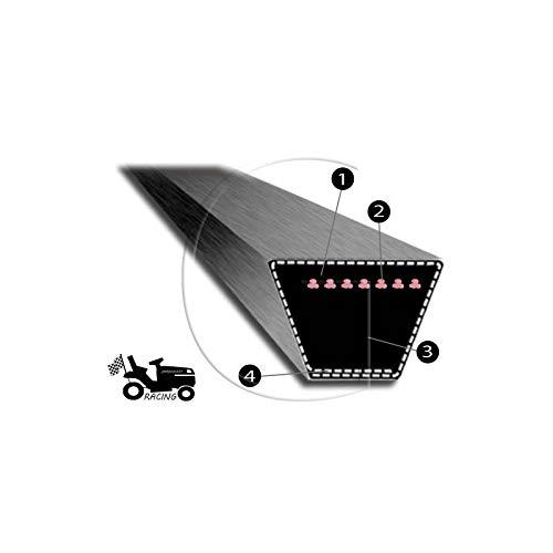 Courroie de tondeuse MITSUBOSHI 4L 64 pouces Super Kevlar renforc/é