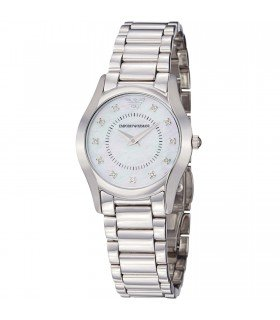 Emporio Armani Women's AR3168 Slim Stainless Steel Bracelet Watch