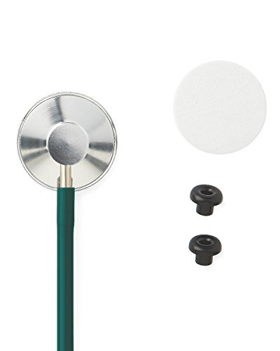 medline MDS926107 Single-Head Stethoscope, Hunter Green