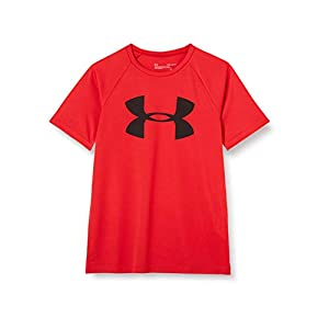 Best Epic Trends 31mDuR2HyuL._SS300_ Under Armour Boys' Tech Big Logo Short Sleeve Gym T-Shirt