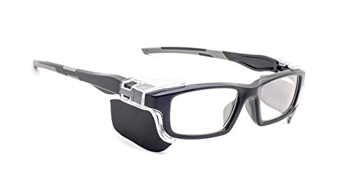 Leaded Glasses Radiation Protective Eyewear RG-17012-BK by Phillips Safety Products, Inc. (Image #5)