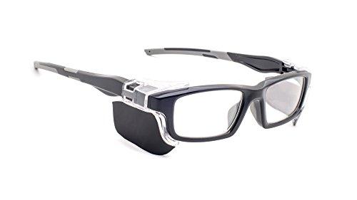 Leaded Glasses Radiation Protective Eyewear RG-17012-BK]()