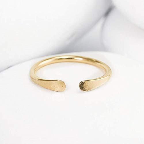 Solid 14K Gold Horseshoe Ring