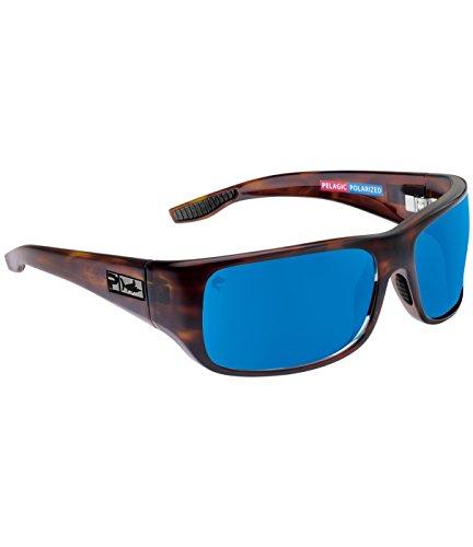 Pelagic Men's Fish Hook Polarized Sunglasses for Fishing | Polycarbonate - Polarized Pelagic Sunglasses