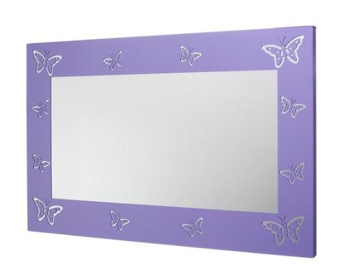 Mariano Metal Decor WA-7000-M-PUR Butterfly Purple Metal Mirror/Wall Decor Art by Mariano Metal Dcor