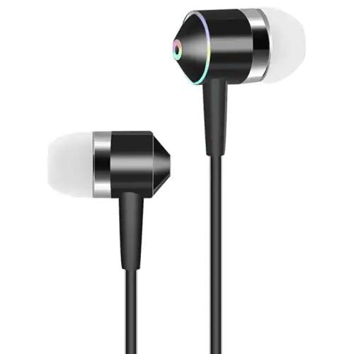 Headphones in-Ear Earbuds Noise Isolation Headsets Heavy Bass Earphones with Microphone Compatible all 3.5mm jack Phones 01