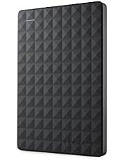 Seagate STEA1000400 Expansion Portable Hard Drives, Black, 1TB