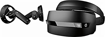 HP - Mixed Reality Headset and Motion Controllers (2018) (Certified Refurbished)