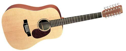 Martin D12X1AE 12-String Acoustic-Electric Guitar (Martin 12 String Acoustic Guitar)
