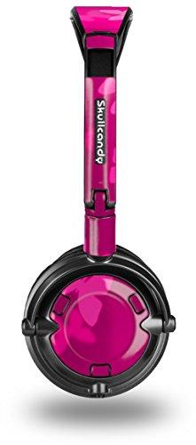 Bokeh Butterflies Hot Pink Decal Style Skin fits Skullcandy Lowrider Headphones (Headphones Sold Separately)