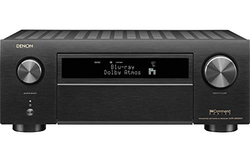 Denon AVR-X6500H Receiver - 8 HDMI in /3 Out, High Power 11.2 Channel (140 W/Ch) Amplifier Home Theater Receiver(Renewed) (Best Denon Av Receiver 2019)