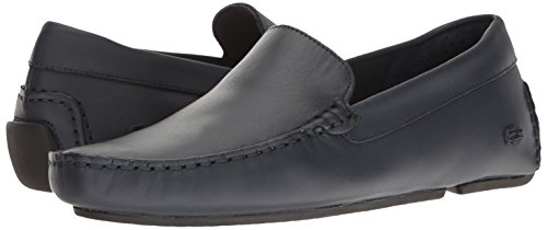 Lacoste Men's Piloter 117 1 Formal Shoe Fashion Sneaker, Navy, 8.5 M US