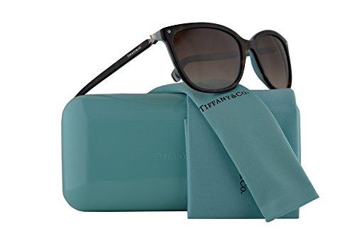 Tiffany & Co. TF4105HB Sunglasses Havana Blue w/Brown Gradient Lens 55mm 81343B TF4105-H-B Tiffany&Co. TF 4105HB TF - Sale Havana Brown For