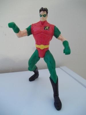 DC Total Justice League Batman:Robin Action Figure
