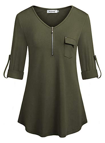 Plus Size Clothing for Women,Ninedaily XXL Oversized Tunic Blouse Loose Fitting Flowy...