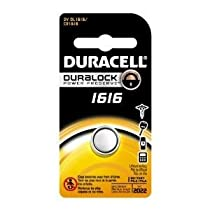 Duracell 3V Lithium Coin Batteries 1616 - 1 Count