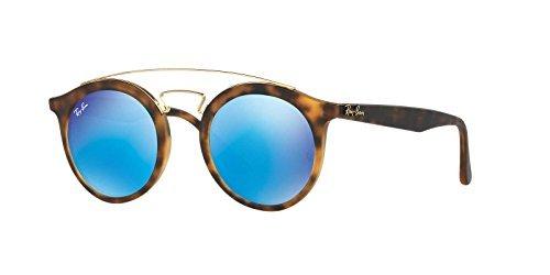 Ray-Ban Gatsby I Sunglasses (RB4256) Tortoise Matte/Green Plastic - Non-Polarized - - Ban Ray Tortoise Matte